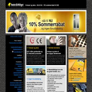 Windows and Doors - Bedst & Billigst