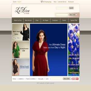 La Diva Clothing Business Shopping La Diva Is An Online Clothing Store With One Sole