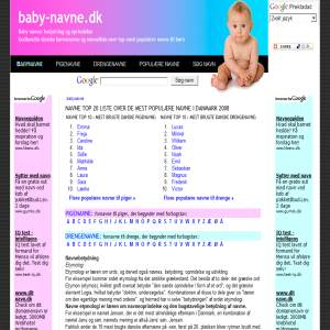 baby names - meaning and origin