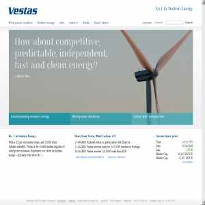 Vestas - Wind Power Turbines