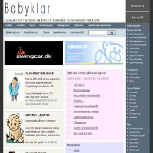 Read about Fertility, pregnancy and birth at Babyklar.dk