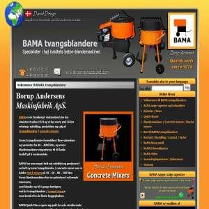 BAMA Concrete mixers