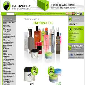 Hairproducts & Hairwax - hair247.dk