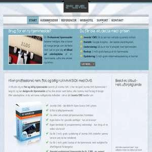 2nd Level Joomla CMS webdesign