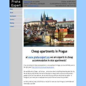 Praha Expert - cheap apartments in Prague