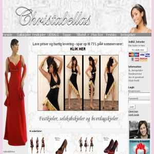Evening Dresses from Christabellas.dk