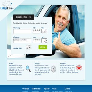 Car rental searchengine