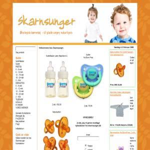Organic childrens clothing from Skarnsunger.dk