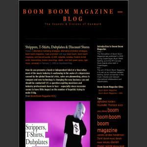 Boom Boom Magazine