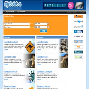 Airline tickets on airbubba