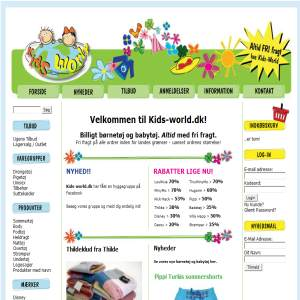 Kids-world.dk - Cheap Children Clothes