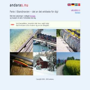 andaras - vacation in scandinavia
