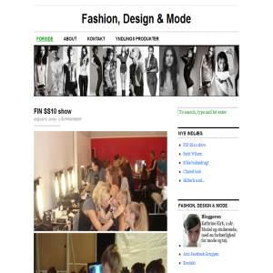 Fashion, Design & Mode