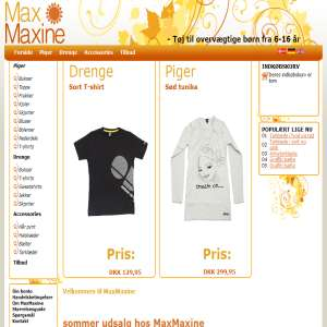 MaxMaxine - Clothes for overweight children age 6-16