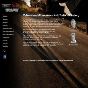 Driving with kviktrafik.dk