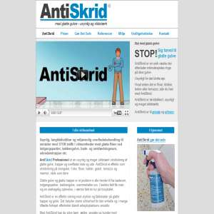 AntiSkrid - Anti slip protection