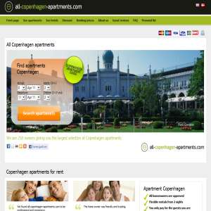 Rent an apartment in Copenhagen