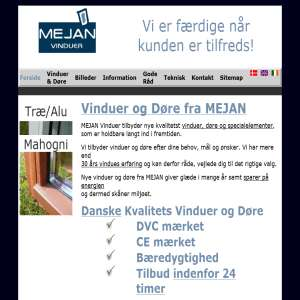 Mejan Windows