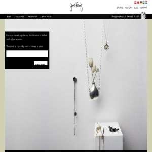 Jewelry from Danish fashion designer Jane Kønig