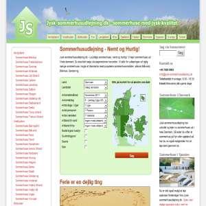 Sommerhusudlejning i Danmark