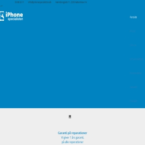 iPhone rep ny iPhonespecialisten.dk