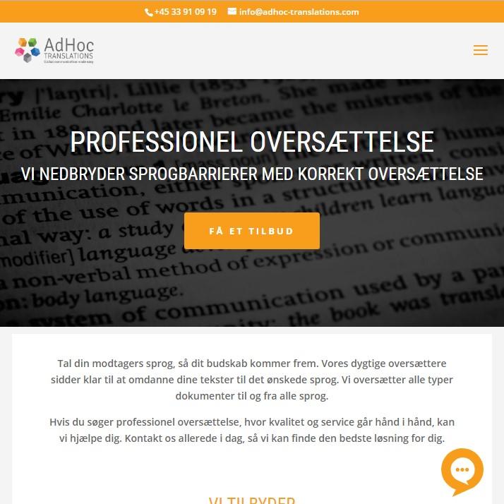 AdHoc Translation - Professionel Translation Agency