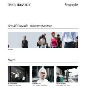 Photographer Simon Hoegsberg