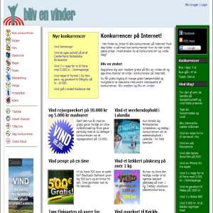 Competitions at Blivenvinder.dk