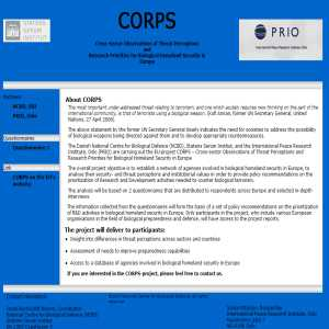 CORPS Project